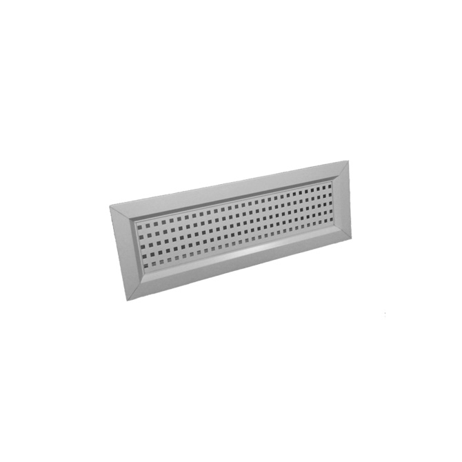GRIGLIA BOCCHETTE - Steel white grille for rectangular valves