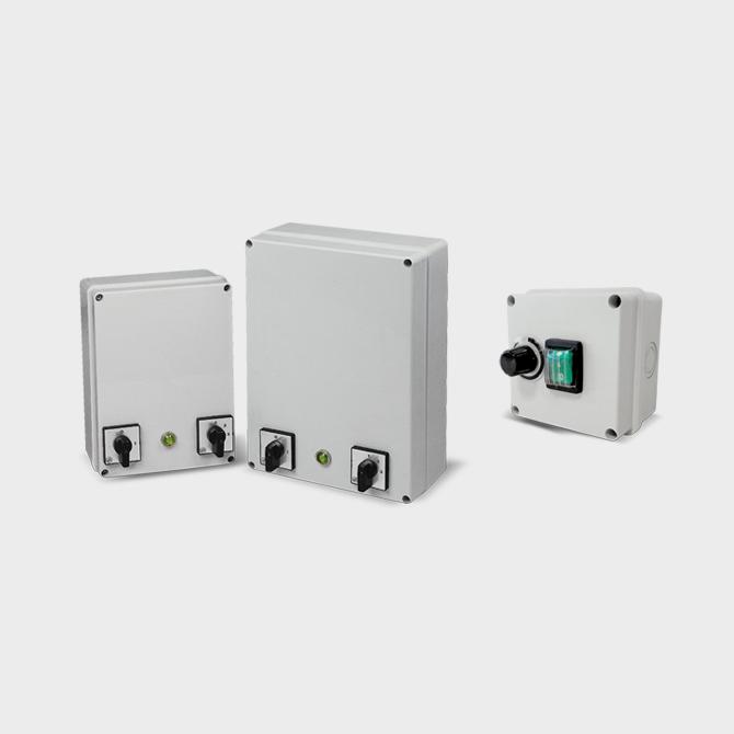 REGOLATORI IP55 - Speed controllers IP55