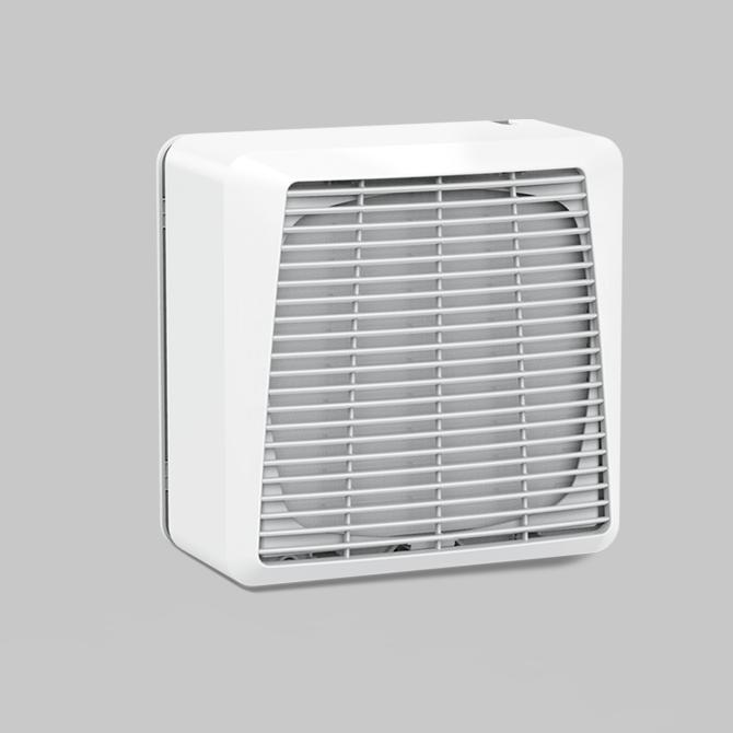 Axial window fans