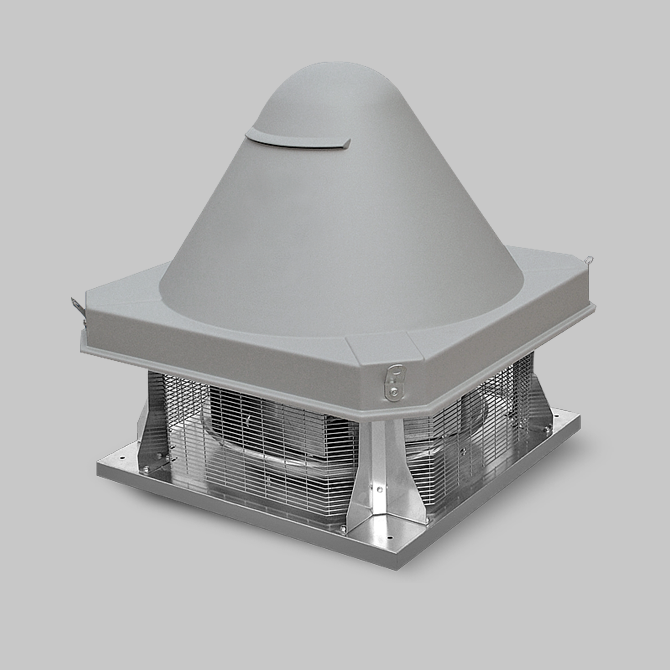 Smoke exhaust fans for fire and car garages